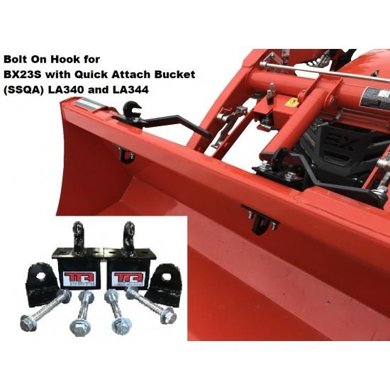 Bolt on hook BX23S LA340-LA344 Quick Attach (SSQA)